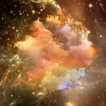 Artistic rendition of stars, nebula and various other features like gaseous clouds in deep space, by Andrew Ostrovsky.